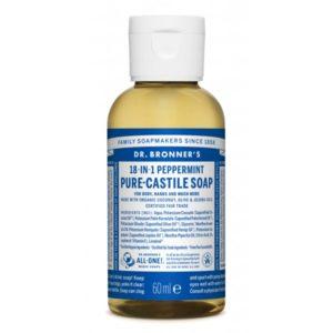 Jabón de Castilla líquido concentrado de Menta