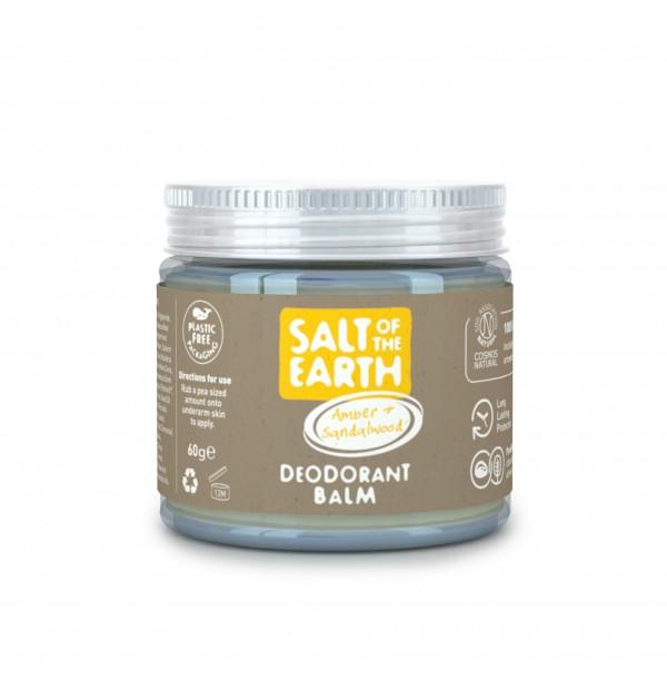 Salt Of The Earth Desodorante-balsamo-ambar-sándalo