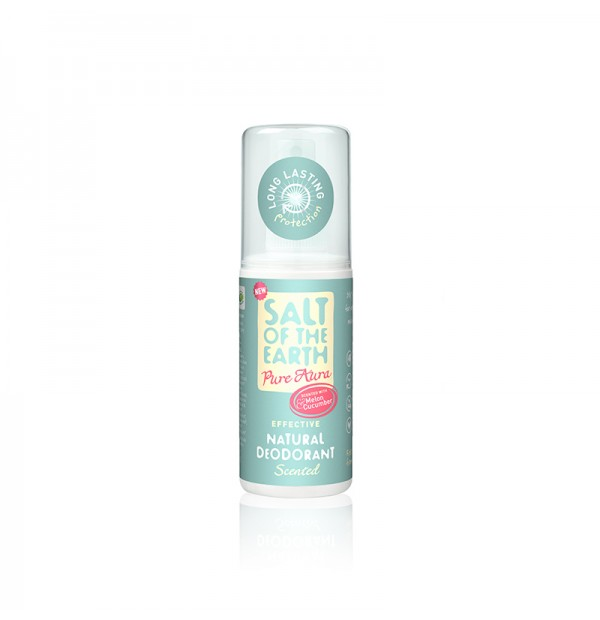 Salt Of The Earth Desodorante-pure-aura unisex-melón-pepino