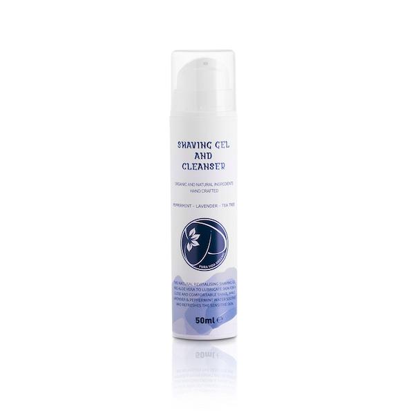 Pura Vida-shaving-gel-cleanser